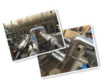 天然气压缩发泡管道防腐保温工程