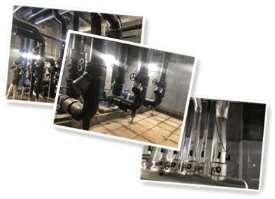 中央空调热力通风消防蒸汽管道保温防腐工程