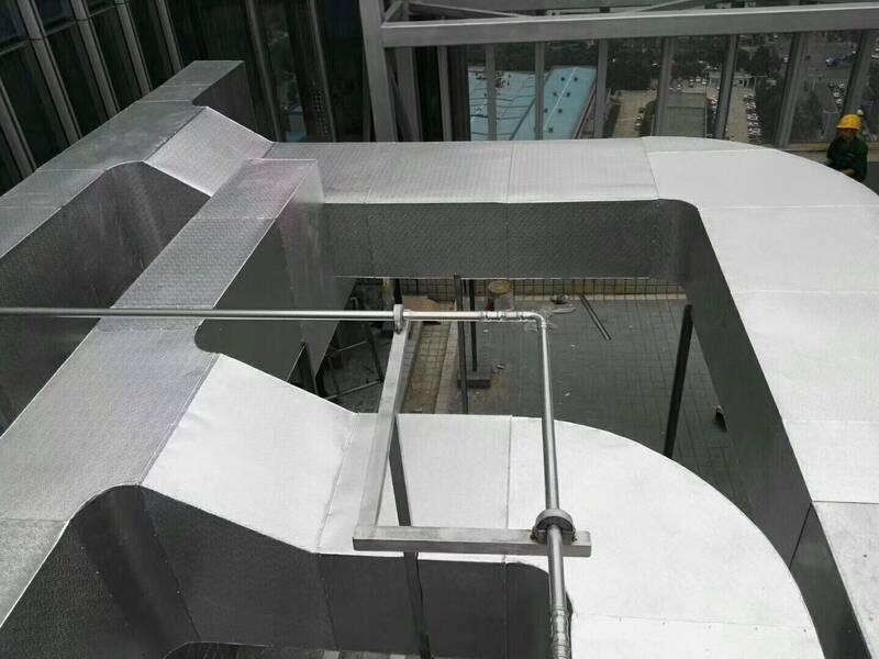 室外空调通风管道保温防腐工程施工