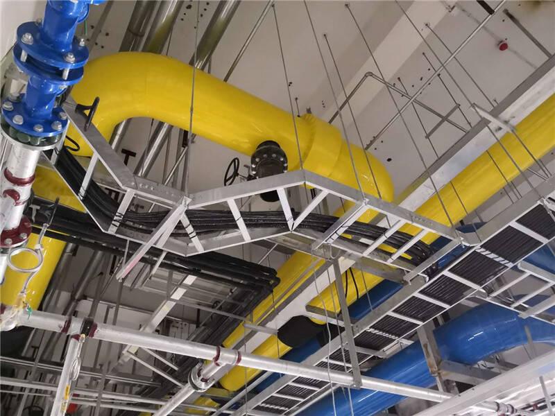 数据中心空调制冷机房管道保温工程施工