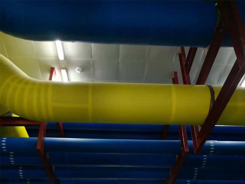 制冷机房橡塑管道保温施工