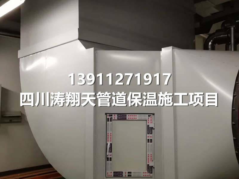 空调通风管道保温工程现场图3