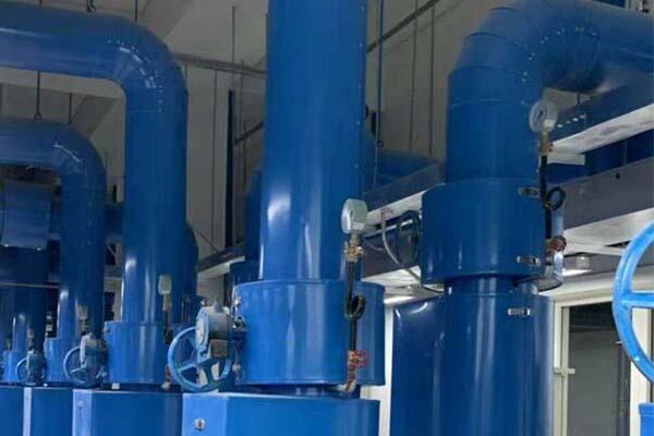 空调水管管道保温施工现场