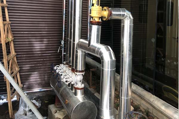 蒸汽管道与循环水管道防腐保温工程