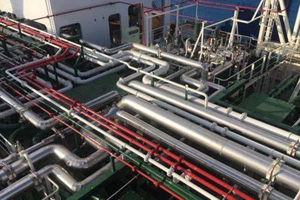 天然气管道保温施工