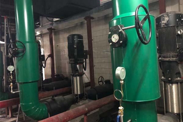 管道保温工程异型三通安装中