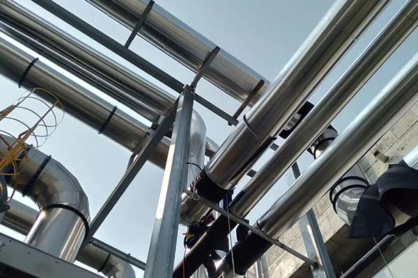 化工厂管道保温