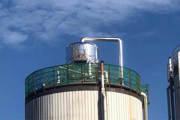 厌氧罐保温层施工安装